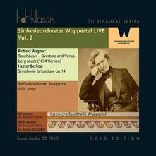 Sinfonieorchester Wuppertal Live vol.2 - SuperAudio CD di Richard Wagner