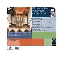 Improvisiert an der Orgel - SuperAudio CD ibrido di Wolfgang Rihm