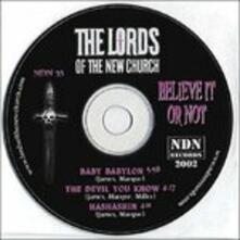 Believe it or Not - CD Audio Singolo di Lords of the New Church