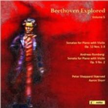 Explored Volume 5 - CD Audio di Ludwig van Beethoven
