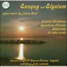 Exequy and Elysium - CD Audio di James Cook