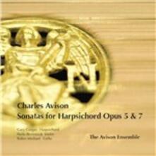 Sonate per clavicembalo op.5, op.7 - CD Audio di Charles Avison,Gary Cooper
