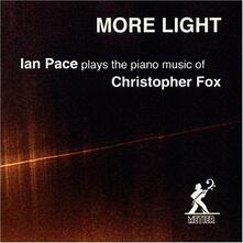 Christopher Fox Piano Music - CD Audio di Ian Pace,Christopher Fox