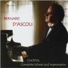 Complete Scherzi and Impromptus - CD Audio di Fryderyk Franciszek Chopin