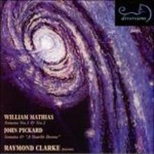 Sonata per Pianoforte n.1 Op.23 - CD Audio di William Mathias,Raymond Clarke