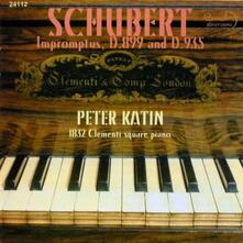 Peter Katin Plays Schubert - CD Audio di Franz Schubert