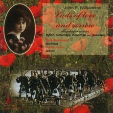 Lads Of Love & Sorrow: Songs By J R Williamson - CD Audio di John R. Williamson