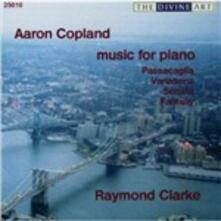 Musica per pianoforte - CD Audio di Aaron Copland,Raymond Clarke