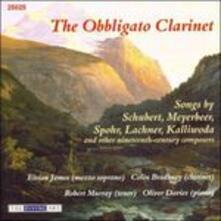 The Obbligato Clarinet - CD Audio di Franz Lachner