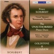 Duetti per pianoforte - CD Audio di Franz Schubert