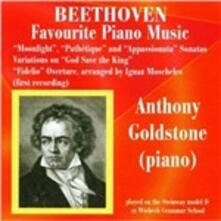 Favorite Piano Music - CD Audio di Ludwig van Beethoven