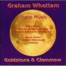 Opere pianistiche - CD Audio di Graham Whettam