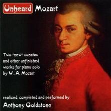 Unheard Mozart - CD Audio di Wolfgang Amadeus Mozart