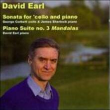 Sonata per violoncello e pianoforte - CD Audio di David Earl