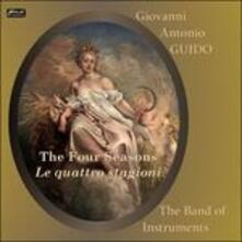 Scherzi armonici sopra le quattro stagioni dell'anno - CD Audio di Giovanni Antonio Guido