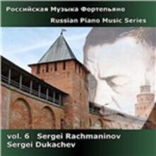 Musica per pianoforte - CD Audio di Sergej Vasilevich Rachmaninov,Sergei Dukachev
