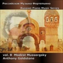 Mussorgsky. Russian - CD Audio di Modest Petrovich Mussorgsky,Anthony Goldstone