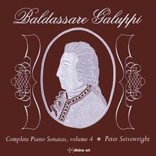 Complete Piano Sonatas vol.4 - CD Audio di Baldassarre Galuppi