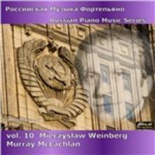 Musica Russa per Pianoforte vol.1 - CD Audio di Mieczyslaw Weinberg