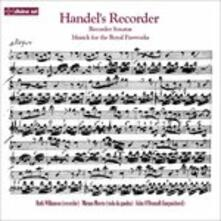 Handel's Recorder - CD Audio di Georg Friedrich Händel