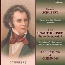 Unauthorised Piano Duos V - CD Audio di Franz Schubert