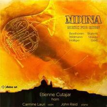 Mdina. Music for Horn - CD Audio di Ludwig van Beethoven