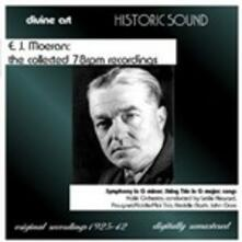The Collected 78rpm Recordings - CD Audio di Ernest John Moeran