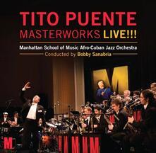 Tito Puente Masterworks Live! - CD Audio di Bobby Sanabria