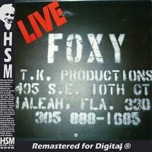 Live - CD Audio di Foxy
