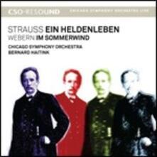 Vita d'eroe (Ein Heldenleben) / Im Sommerwind - CD Audio di Richard Strauss,Anton Webern,Bernard Haitink,Chicago Symphony Orchestra