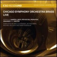 Chicago Symphony Orchestra Brass Live - SuperAudio CD ibrido