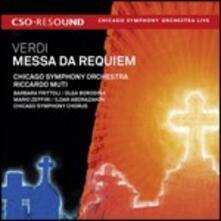 Messa da Requiem - CD Audio di Giuseppe Verdi,Chicago Symphony Orchestra,Riccardo Muti