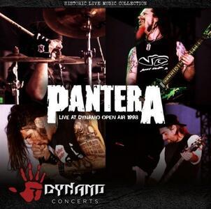 CD Live at Dynamo Open Air 1998 Pantera