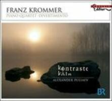 Divertimento op.96 - Quartetto con pianoforte - CD Audio di Franztisek Vincenc Krommer