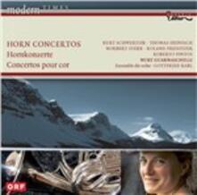 Concerti per corno - CD Audio di Nury Guarnaschelli