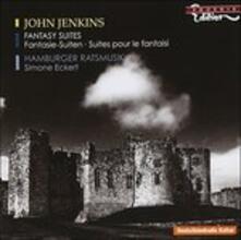 Fantasia-Suite in La Minore, Aria in La Maggiore, Divisions in La Maggiore - CD Audio di John Jenkins,Simone Eckert