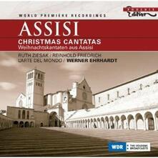 Assisi Christmas Cantatas. I tersori della biblioteca del Sacro Convento di Assisi - CD Audio