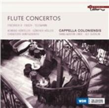 Concerti per flauto - CD Audio di Georg Philipp Telemann,Johann Friedrich Fasch,Federico II il Grande,Cappella Coloniensis,Konrad Hünteler,Ulf Björlin
