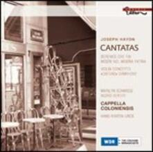 Scena di Berenice - Cantate - Miseri noi, misera patria - Concerto per violino n.4 - Sinfonia n.94 - CD Audio di Franz Joseph Haydn,Cappella Coloniensis,Hans-Martin Linde