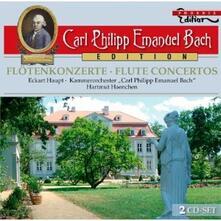 Concerti per flauto - CD Audio di Carl Philipp Emanuel Bach
