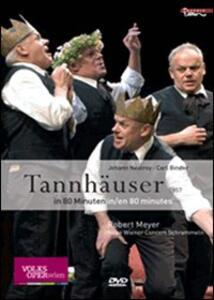Carl Binder & Johann Nestroy. Tannhäuser - DVD
