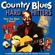 Country Blues Hard vol.2 - CD Audio