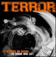 No Regrets No Shame - CD Audio + DVD di Terror