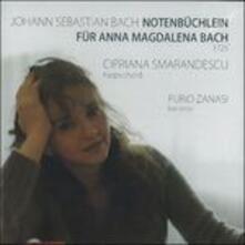 Quaderno di Anna Magdalena - CD Audio di Johann Sebastian Bach,Cipriana Smarandescu