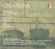 Créations - CD Audio di Francesco Antonioni,Patrizia Montanaro