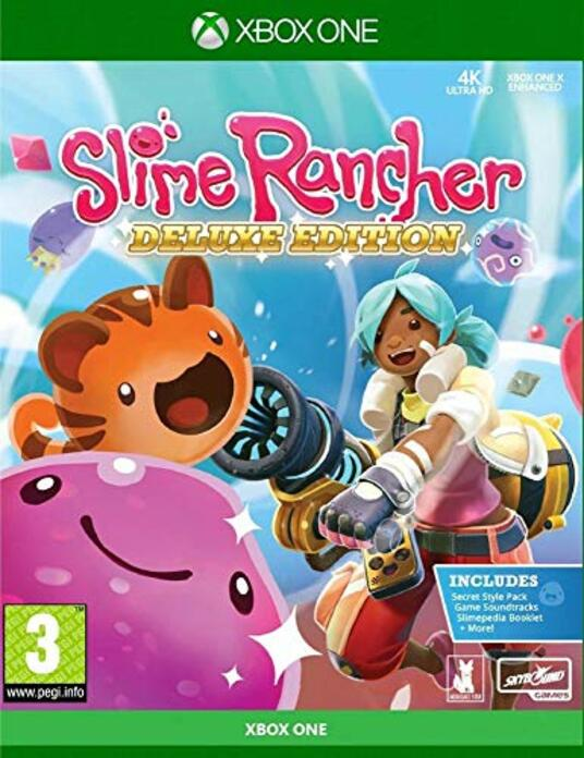 Justforgames Slime Rancher Deluxe Edition Xbox One