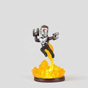 Marvel Comics Q Fig Star Lord Light Up Mini Figure Nuova