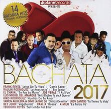 Bachata 2017 - CD Audio