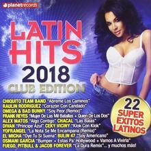 Latin Hits 2018 - CD Audio