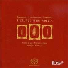 Pictures from Russia - CD Audio